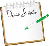 亲爱的圣诞老人 免版税库存照片