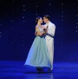 亲吻月亮女神doga华尔兹这奥地利的世界舞蹈 图库摄影