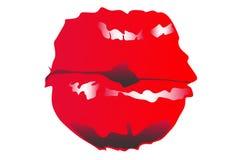 亲吻花 免版税库存图片