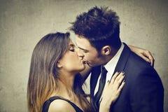 亲吻 免版税图库摄影