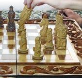 人下棋 免版税图库摄影
