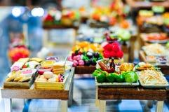 人为微型泰国的食物 库存照片