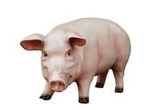 人为猪 免版税库存照片