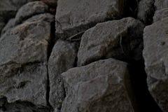 人为石头美好的背景  库存图片