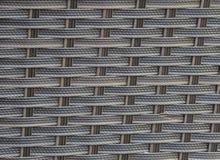 人为芦苇藤条米黄棕色抽象纹理背景 免版税库存图片