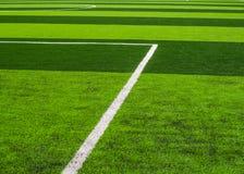 人为草皮橄榄球 免版税库存照片