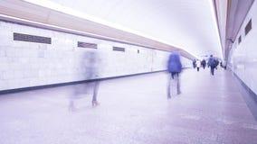 人人群俄国地铁的 影视素材