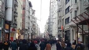 人们在伊斯坦布尔,土耳其 股票视频