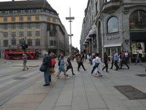 人们在奥斯陆 库存图片