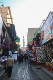 人们老开罗 免版税库存图片
