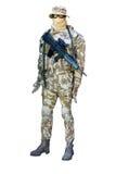 人体模型战士 库存照片