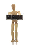 人体模型新的陈列 免版税库存照片