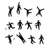 人体育运动 库存例证