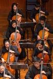 人使用在一个古典音乐音乐会的,瓷 库存图片