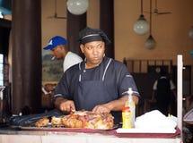 人切口肉在哈瓦那古巴 库存图片