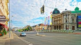 人剧院在维也纳 免版税库存照片