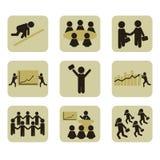 人力图标 免版税图库摄影