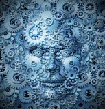 人力智能和创造性 免版税库存图片