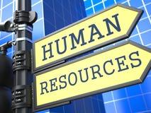人力资源。企业概念。 皇族释放例证
