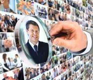 人力资源概念, 免版税库存照片