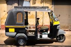 人力车tuktuk 免版税库存图片
