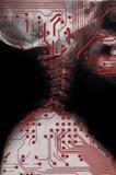 类人动物,未来医学 免版税库存图片