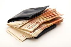 人员富有钱包 库存图片
