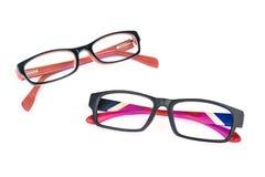 人和妇女eyewear 免版税库存图片