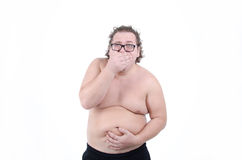 人和问题 腹泻 免版税库存图片