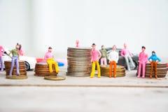 人和货币业务概念 免版税库存图片