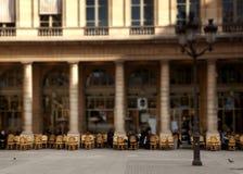 巴黎人咖啡馆 库存图片