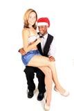人圣诞老人 免版税库存图片