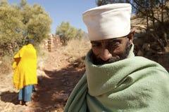 人在农村埃塞俄比亚 免版税库存照片