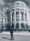 Sevastyanov的豪宅(1863-1866)在叶卡捷琳堡,俄国 免版税库存照片