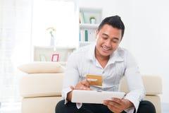 人在线购物 免版税库存图片