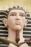 人埃及雕象  免版税库存图片