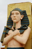 人埃及雕象  库存图片