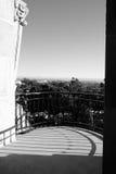 人塔景色圣地亚哥博物馆  免版税库存照片