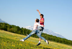 人妇女年轻人 免版税库存图片
