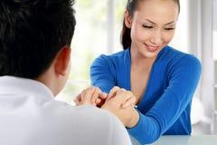 人婚姻建议 免版税库存图片