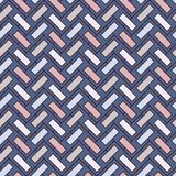 人字形墙纸 抽象木条地板背景 与长方形瓦片的无缝的样式 经典几何装饰品 库存例证