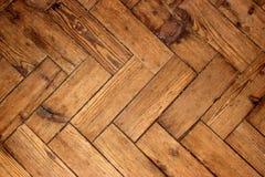 人字形橡木地板 图库摄影