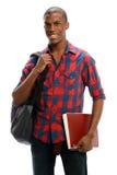 年轻黑人学生 免版税图库摄影