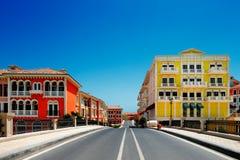 人工岛珍珠卡塔尔在多哈,卡塔尔 库存图片