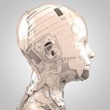 人工智能和机器人学 免版税库存图片