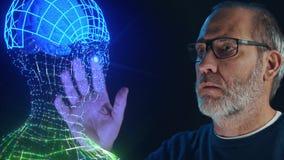 人工智能深刻的学习的脑子模仿 股票视频
