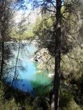 人工湖在瓜达莱斯特 西班牙 库存照片