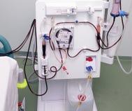 人工肾现代设备  免版税库存图片