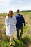年轻人已婚夫妇生活方式画象 库存照片