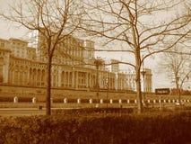 人布加勒斯特议院  库存图片